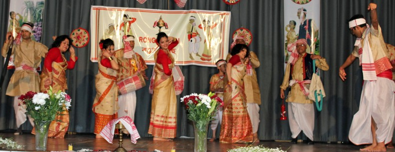 First four-generation Husori at London Bihu